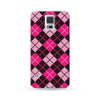 Sasmung Galaxy Case Argyle Pink | Ultra-case.com