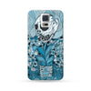 Sasmung Galaxy Case Death Blue | Ultra-case.com