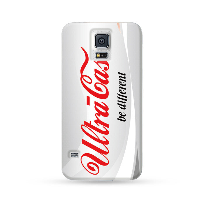 Sasmung Galaxy Case Drink Silver Coke | Ultra-case.com