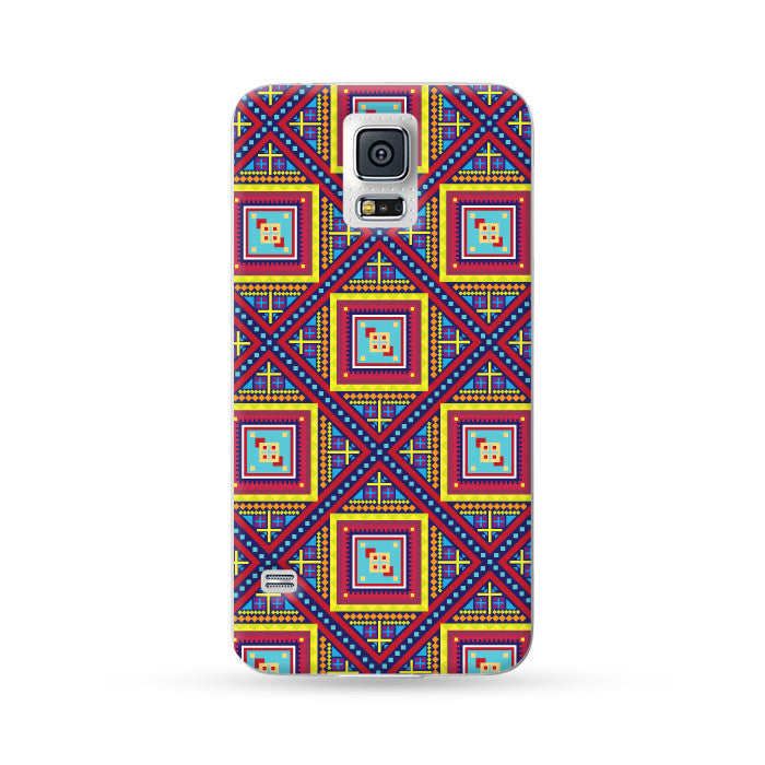 Sasmung Galaxy Case Folk Color 1 | Ultra-case.com