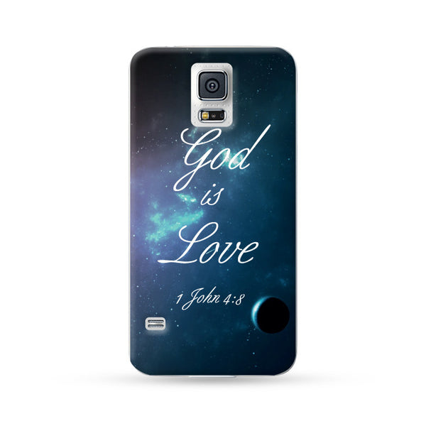 Sasmung Galaxy Case God is Love Color 3 | Ultra-case.com