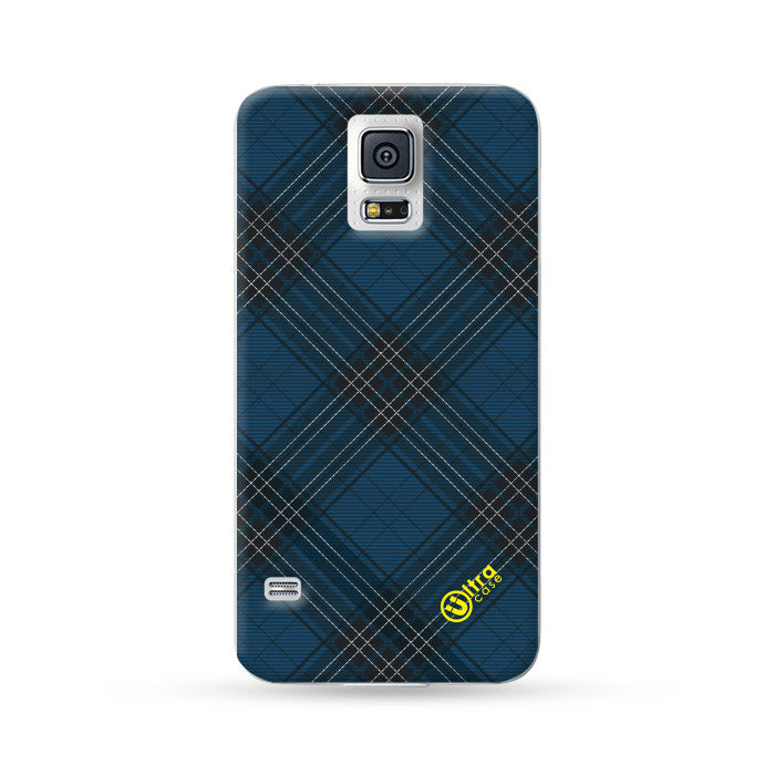 Sasmung Galaxy Case Grid Blue | Ultra-case.com