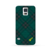 Sasmung Galaxy Case Grid Green | Ultra-case.com
