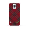 Sasmung Galaxy Case Grid Red | Ultra-case.com