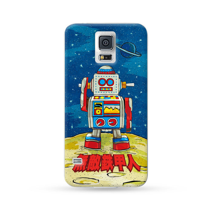 Sasmung Galaxy Case Hong Kong Style Robot | Ultra-case.com
