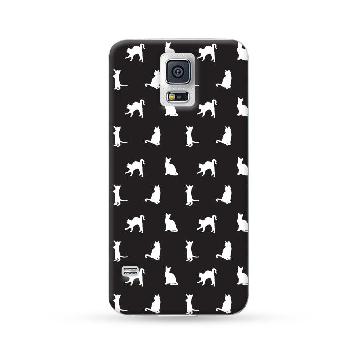 Sasmung Galaxy Case Kitten Black | Ultra-case.com