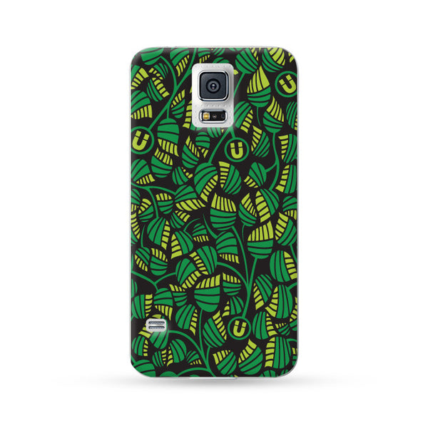 Sasmung Galaxy Case Leaves Green | Ultra-case.com