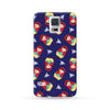 Sasmung Galaxy Case Matryoshka Pattern Blue | Ultra-case.com