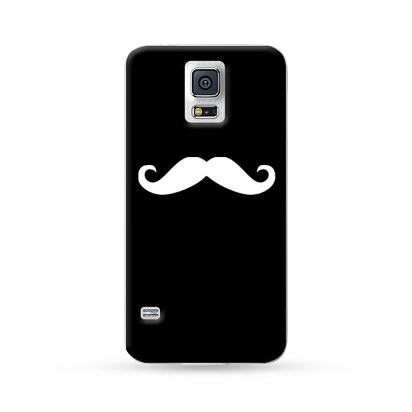 Sasmung Galaxy Case Mustache Black | Ultra-case.com