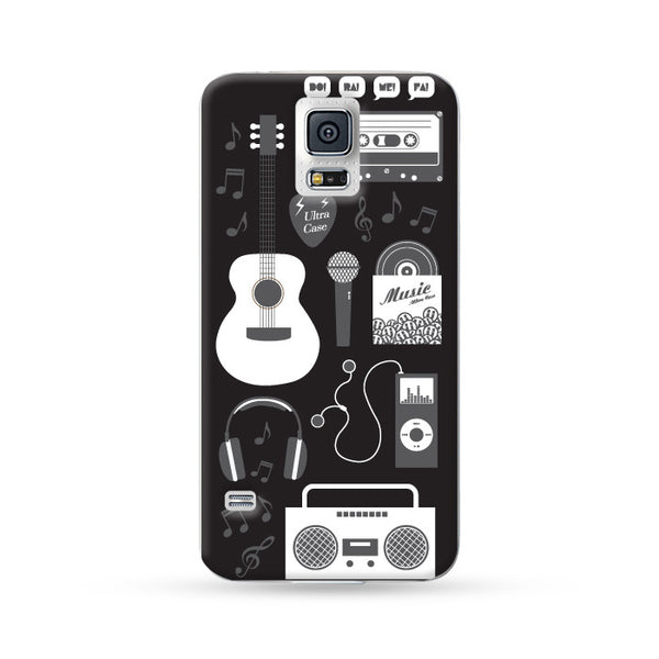 Samung Galaxy Case Ultra Music Black | Ultra-case.com