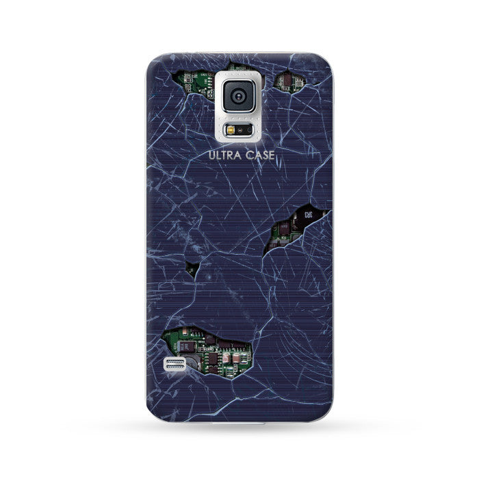 Samsung Galaxy Case Break Style Black 2 | Ultra-case.com