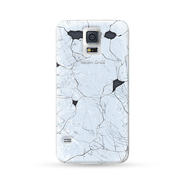 Samsung Galaxy Case Break Style White 1 | Ultra-case.com