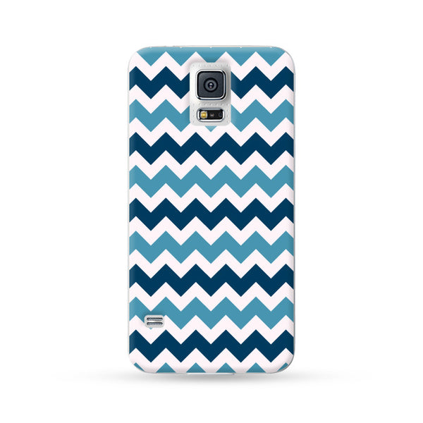 Samsung Galaxy Case Chevron Blue | Ultra-case.com