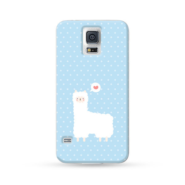 Samsung Galaxy Case Alpaca Blue | Ultra-case.com