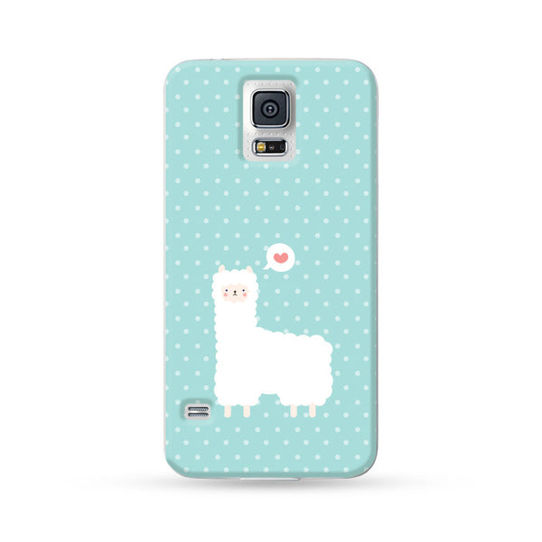 Samsung Galaxy Case Alpaca Aqua | Ultra-case.com