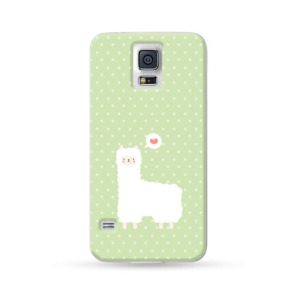 Samsung Galaxy Case Alpaca Green | Ultra-case.com