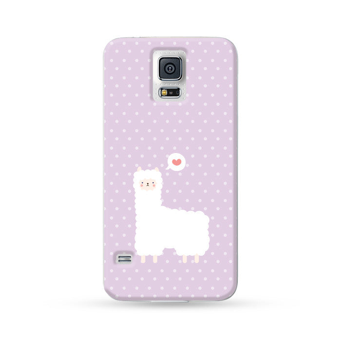 Samsung Galaxy Case Alpaca Purple | Ultra-case.com