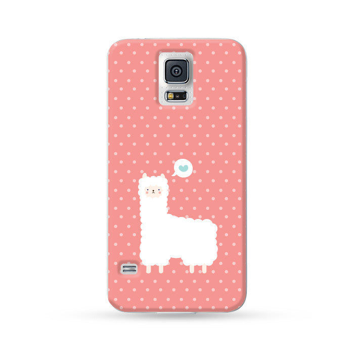 Samsung Galaxy Case Alpaca Red | Ultra-case.com