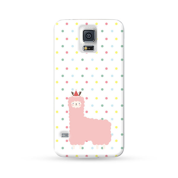 Samsung Galaxy Case Alpaca Xmas | Ultra-case.com