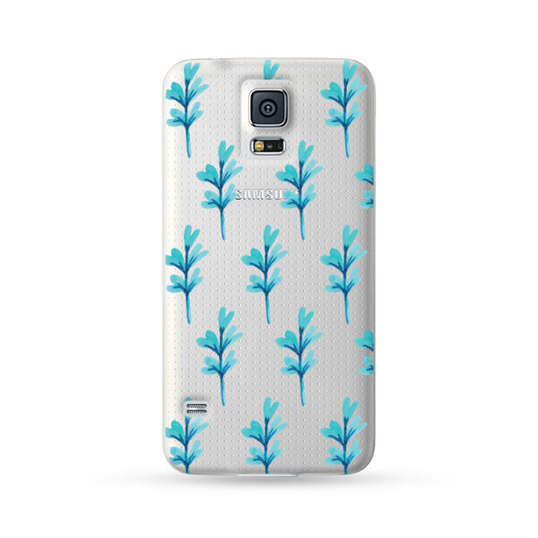 Samsung Galaxy Case Blue Grass | Ultra-case.com