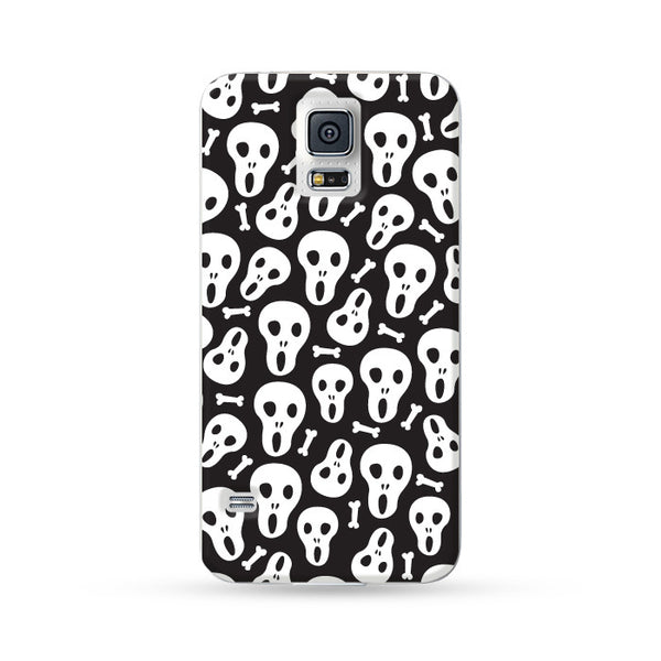 Samsung Galaxy Case Bones White | Ultra-case.com
