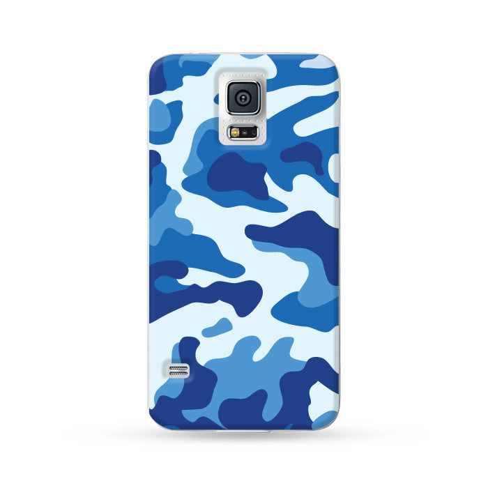 Samsung Galaxy Case Camo Blue | Ultra-case.com