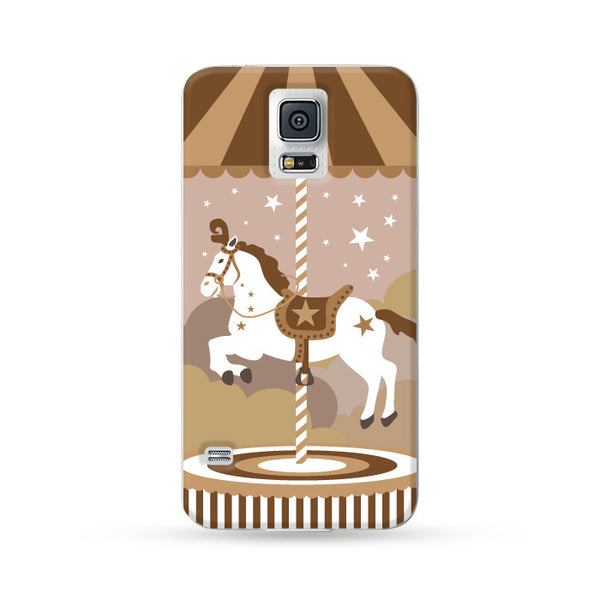 Samsung Galaxy Case Carousel Brown | Ultra-case.com
