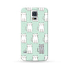 Samsung Galaxy Case Cats Cyan | Ultra-case.com