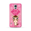 Samsung Galaxy Case Chinese Zodiac Horse Flower Pink | Ultra-case.com