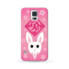 Samsung Galaxy Case Chinese Zodiac Rabbit Flower Pink | Ultra-case.com
