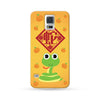 Samsung Galaxy Case Chinese Zodiac Snake Mandarin Orange | Ultra-case.com