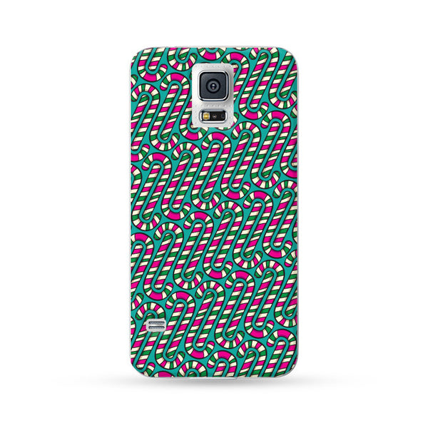 Samsung Galaxy Case Christmas Series Cyan | Ultra-case.com