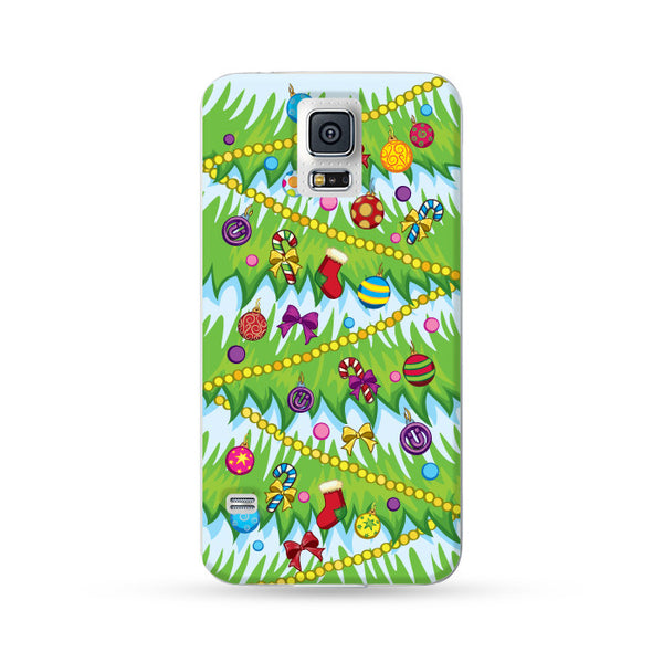 Samsung Galaxy Case Christmas Series - Green Christmas Tree | Ultra-case.com