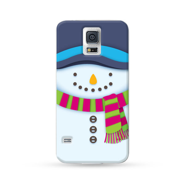 Samsung Galaxy Case Christmas Series - White Snowman | Ultra-case.com