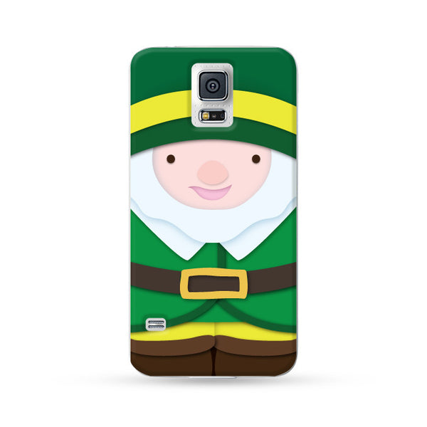 Samsung Galaxy Case Christmas Series - Green Genie | Ultra-case.com