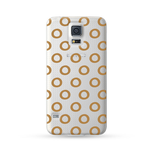 Samsung Galaxy Case Circle Gold | Ultra-case.com