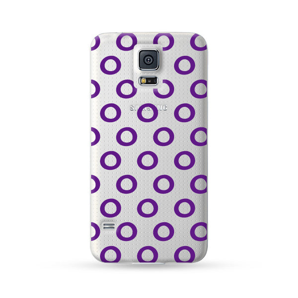 Samsung Galaxy Case Circle Purple | Ultra-case.com