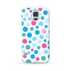 Samsung Galaxy Case Color Dots Blue | Ultra-case.com