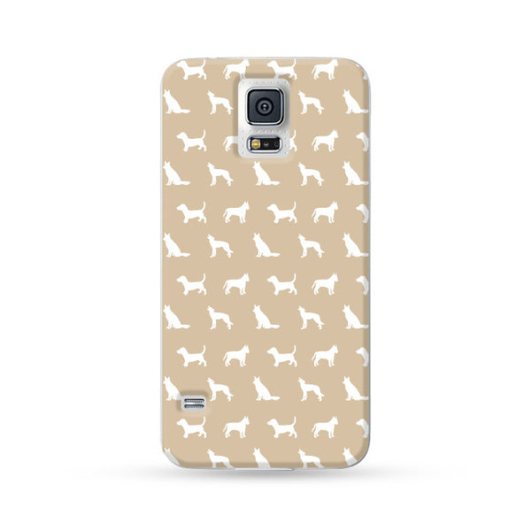 Samsung Galaxy Case Dog Brown | Ultra-case.com