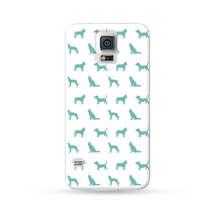 Samsung Galaxy Case Dog White 1 | Ultra-case.com