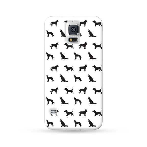 Samsung Galaxy Case Dog White 2 | Ultra-case.com