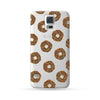 Samsung Galaxy Case Donut Brown | Ultra-case.com