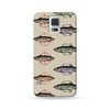 Samsung Galaxy Case Fish Brown | Ultra-case.com