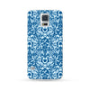 Samsung Galaxy Case Flowers Blue | Ultra-case.com