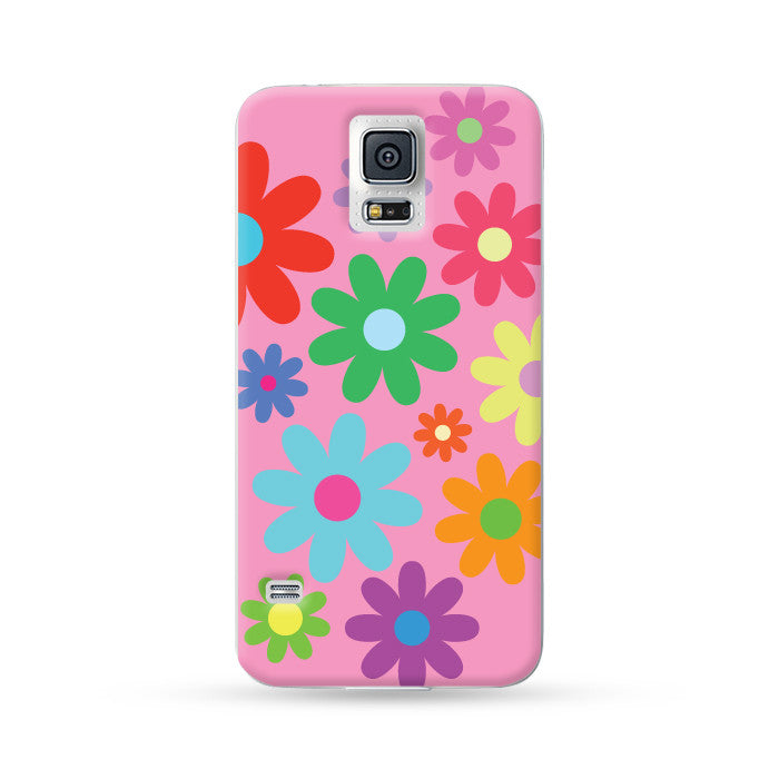 Samsung Galaxy Case Flowers Pink | Ultra-case.com
