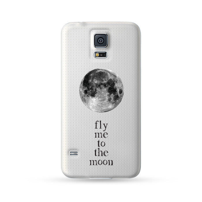 Samsung Galaxy Note 5 4 3 S6 edge + S5 S4 S3 Case Fly Me to the Moon | Ultra-case.com