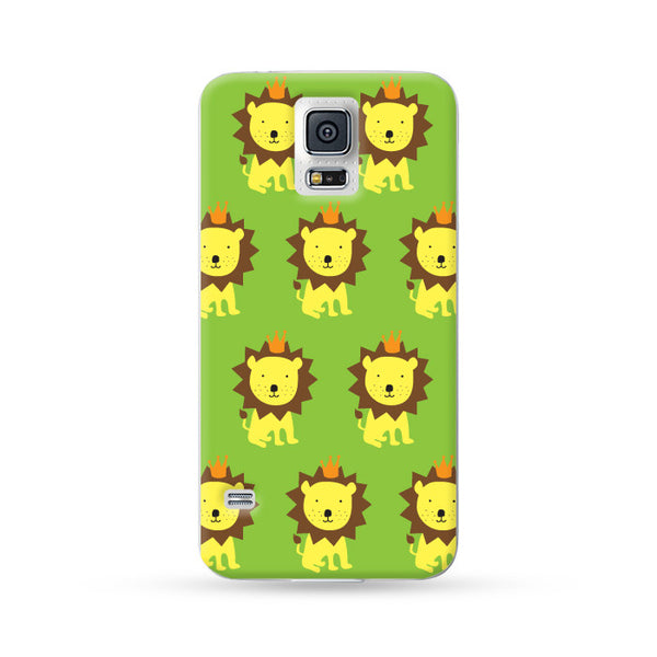 Samsung Galaxy Case Forest Friends Lion | Ultra-case.com