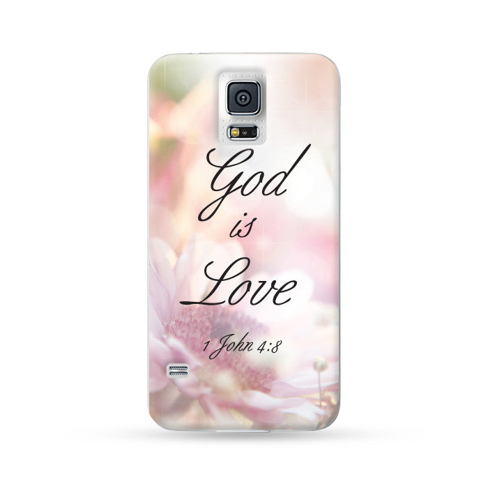 Samsung Galaxy Case God is Love Color 2 | Ultra-case.com
