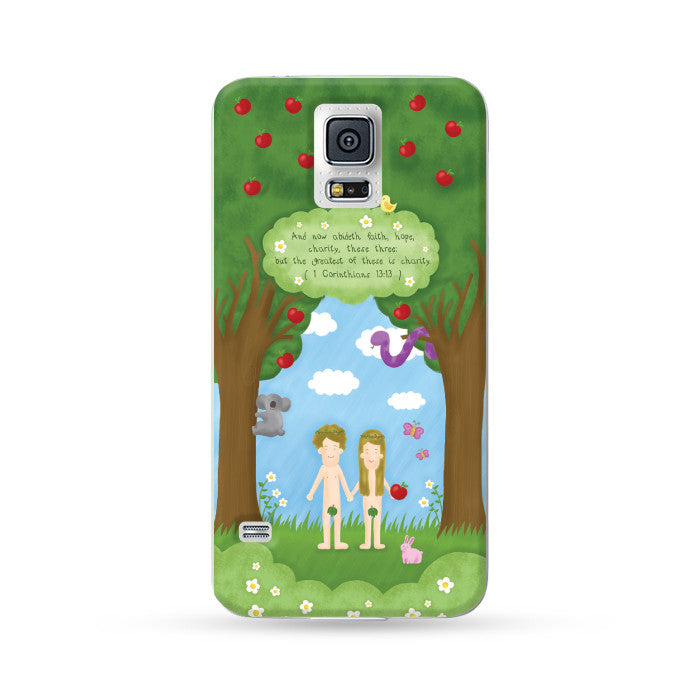 Samsung Galaxy Case Good News Eden English verison | Ultra-case.com