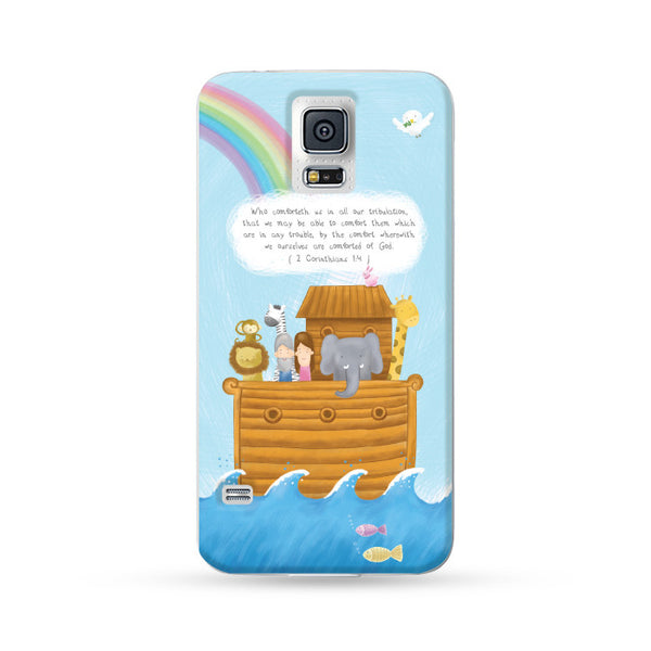 Samsung Galaxy Case Good News Noahsark English version | Ultra-case.com